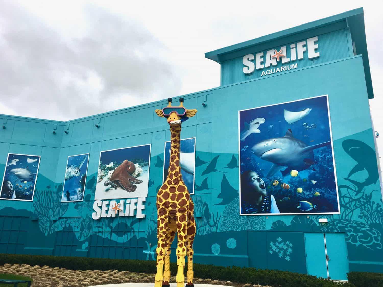 Sea Life Michigan Aquarium - Exterior