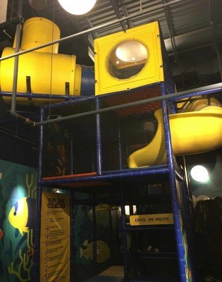 Sea Life Michigan Aquarium - Play Structure