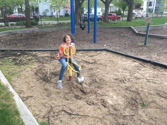 Wheeler Park - Tuesday Playground Profile - Sand Digger