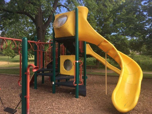 Buhr Park Playground - Structure Overview
