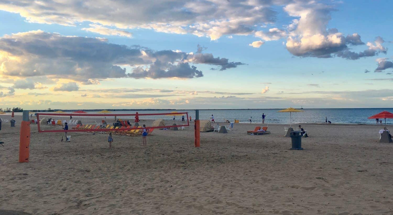 Cedar Point Wednesday Activity Review - Beach - Volleyball