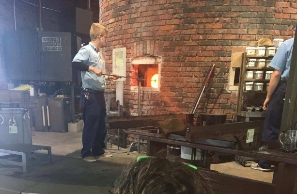 Cedar Point - Wednesday Activity Review - Glass Blowing