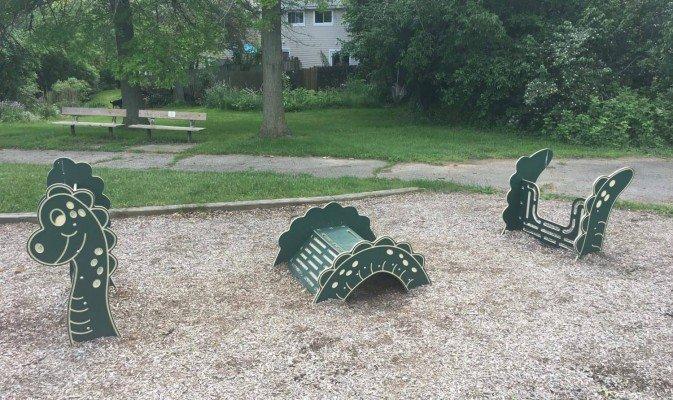 Leslie Park Playground Profile - Monster