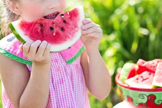 Vintage Summer Fun - Watermelon Girl