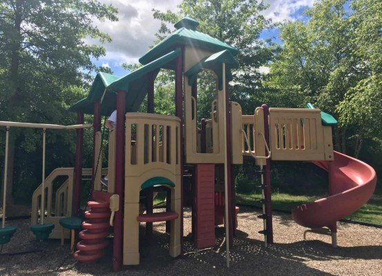Woolley Park Playground Profile - Play Structure