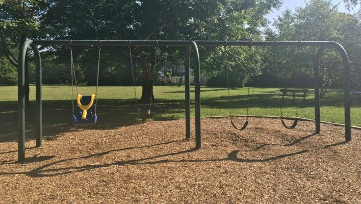 Frisinger Park Playground Review - Swings