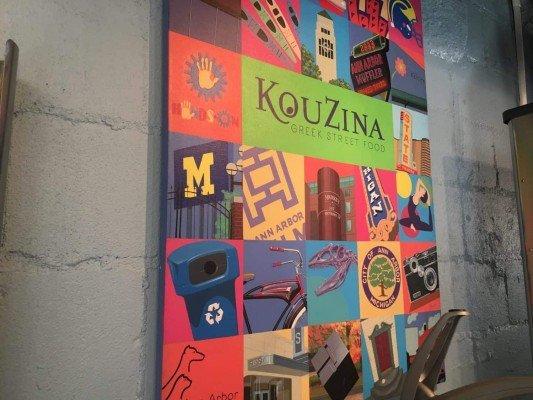 KouZina Greek Street Food - Mural