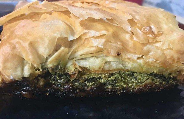 KouZina Greek Street Food - Spinach Pie