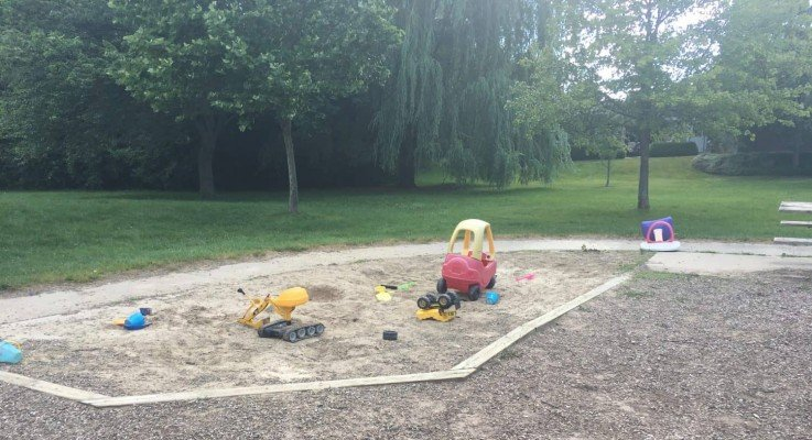 Winchell Park - Tuesday Playground Profile - Sand