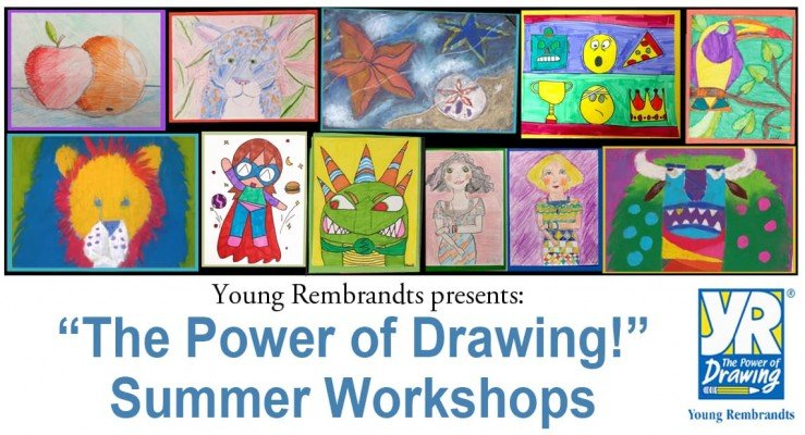 Young Rembrandts Power of Drawing - Ann Arbor Summer Camp