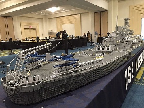 Brickworld Michigan - USS Missouri