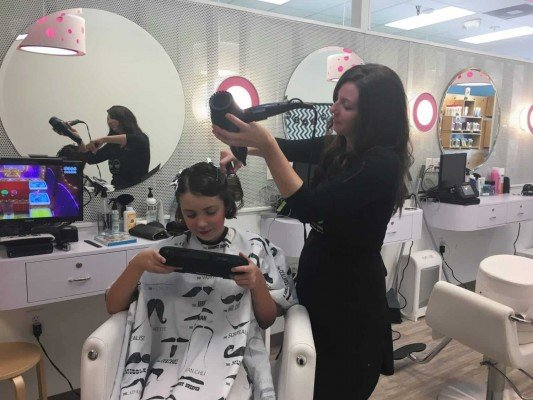Back to School Hair Tips - Blow Dry After Cut