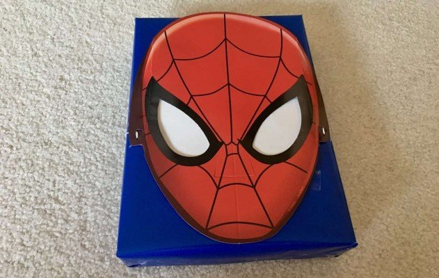 Birthdays Made Brighter - Spiderman Completed Package - Customized Gift Wrap Ideas