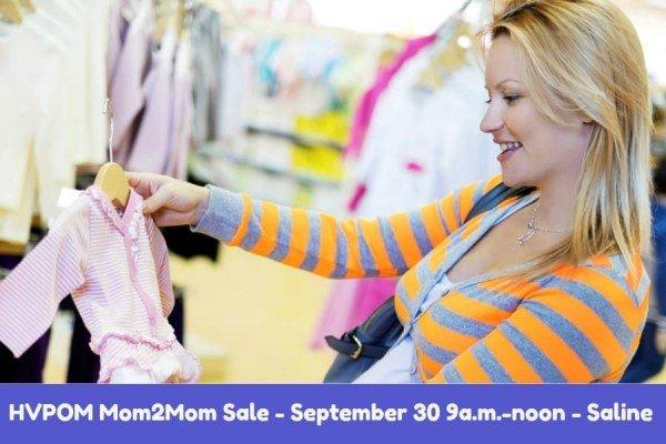 HVPOM Mom2Mom Sale - September 30, 2017 - 9a-noon - Saline