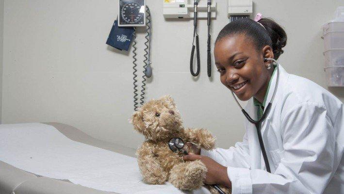 Doctor Treating Teddy Bear