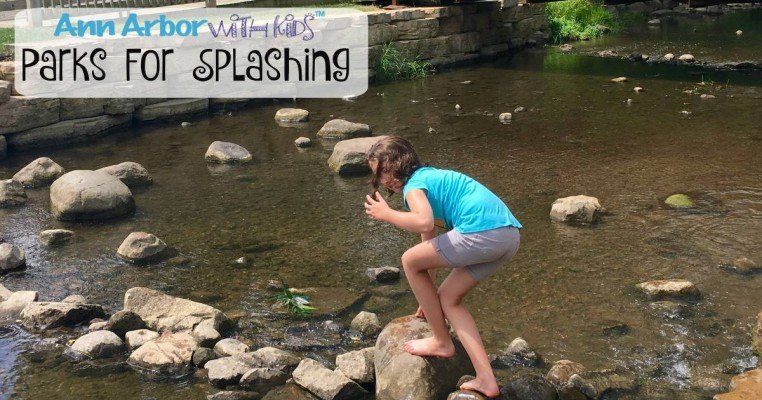 Ann Arbor Parks for Splashing