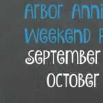 Arbor Annie's Weekend Picks - September 29-October 1