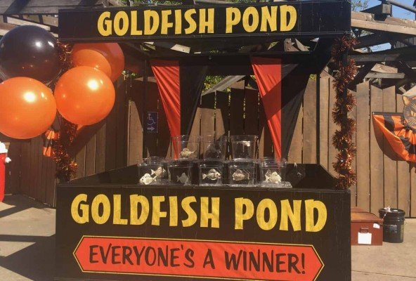 Cedar Point Halloweekends with Kids - Harvest Fear Goldfish Pond