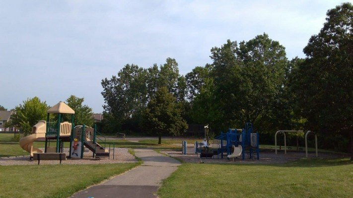 Cranbrook Playground - Two Structures