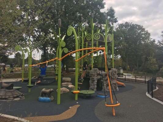 Centennial Playground at Gallup Park - One Structure