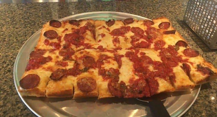 Ann Arbor Buddy's The Detroit Pizza