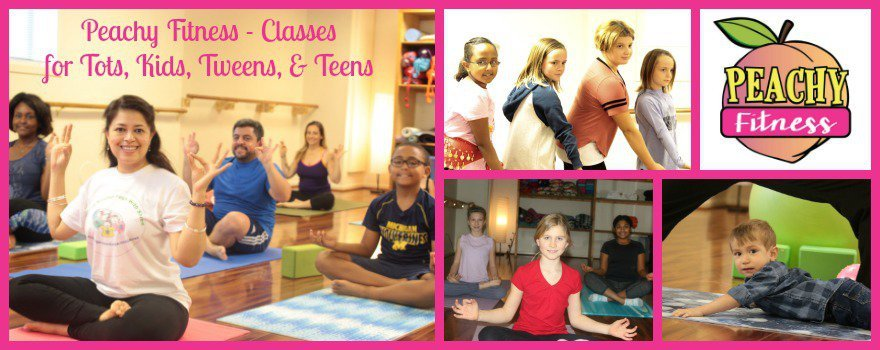 Peachy Fitness Classes - Featured Collage