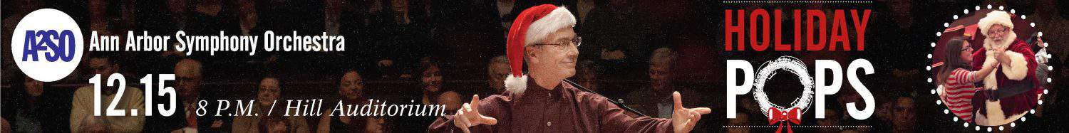 Ann Arbor Symphony Orchestra Holiday Pops