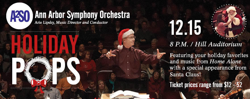 Ann Arbor Holiday Pops Concert