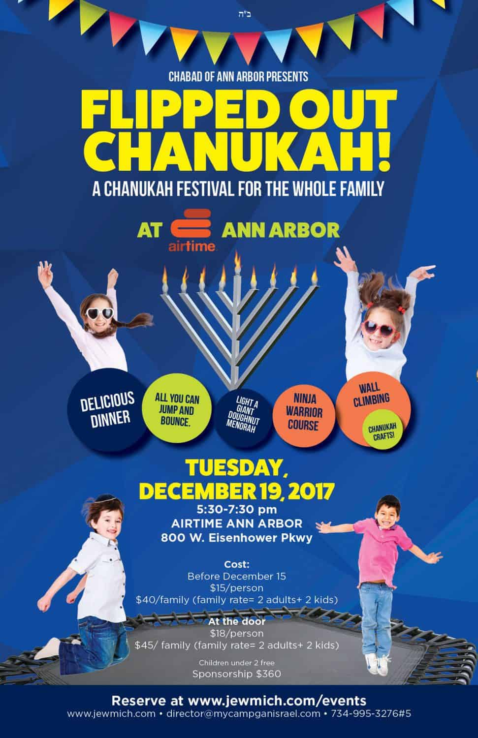 Flipped Out Chanukah