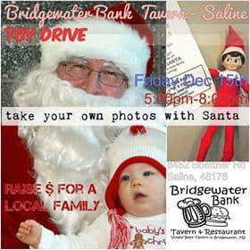 Bridgewater Bank Tavern Santa Dinner & Toy Drive
