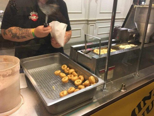 Greenfield Village Holiday Nights - Mini Donuts at Village Pavilion