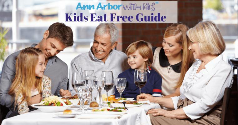 Ann Arbor Kids Eat Free Guide