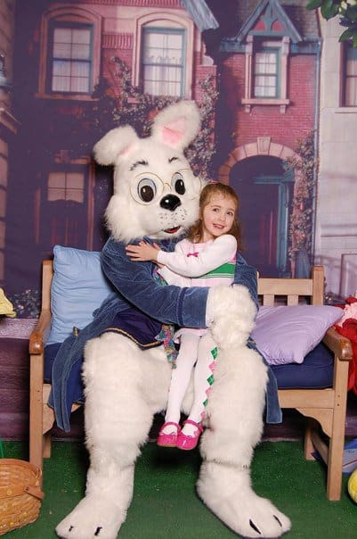 Briarwood Mall Easter Bunny