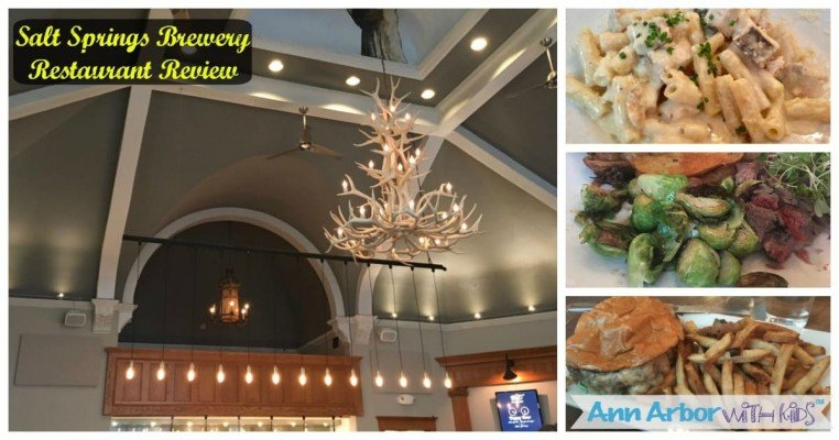 Salt Springs Brewery Restaurant Review