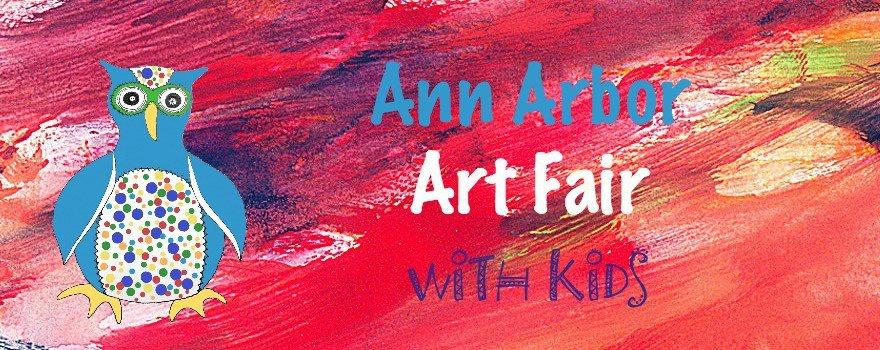 Ann Arbor Art Fair with Kids
