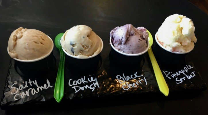 Ann Arbor Ice Cream - Blank Slate Creamery Ice Cream Flight